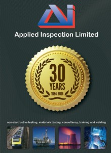 Applied Inspection 30 Years Anniversary